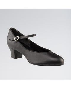 Capezio Junior Footlight™ Chaussures de Caractère Semelles en Daim
