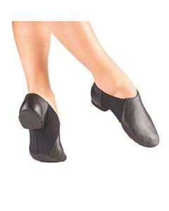 So Danca Chaussures de Jazz Bi-semelles Stretch