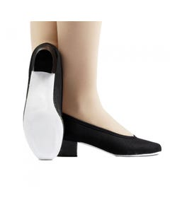 Canvas Cuban Heel Dance Shoes