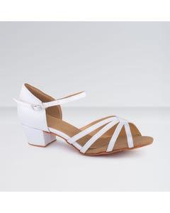 1st Position Chaussures de Danse de salon en Satin à Petit Talon