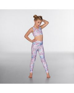 1st Position Leggings à Imprimé Licorne