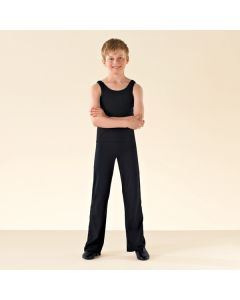 1st Position Pantalon de Jazz Noir en Cotton