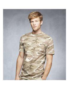 T-Shirt Camouflage de Guerre Hommes
