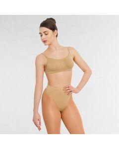 Silky Brassière Sans Coutures Dos Transparent