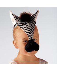 Masque Zèbre Sonore