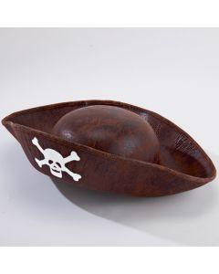 Chapeau de Pirate Marron - Taille Enfant