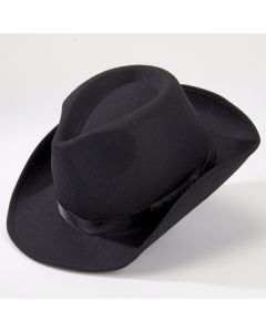 Chapeau de Gangster Noir
