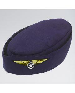Chapeau Hôtesse de l`Air Bleu Marine