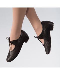 1st Position Chaussures de Claquette à Petit Talon et Effet Holographique