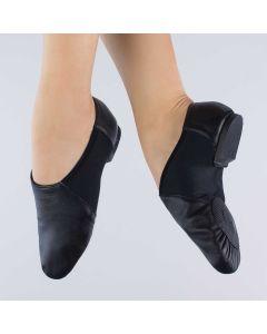 1st Position Chaussures de Jazz Stretch Bi-semelles