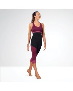Bloch Colour Panelled Capri Leggings