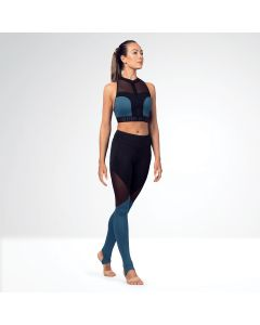 Bloch Full Length Colour Panelled Leggings