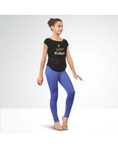 Bloch Renae - T-shirt à impression ``XOXO`` en maille à attacher