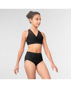 Bloch Neela - Branded Exposed High Waist Regular Legline Brief