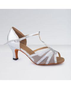 1st Position Chaussures de Danse de Salon en Polyuréthane Avec Lanière en T en Tissu et Boucle D;attache