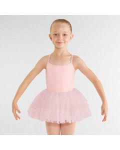 "Bloch ""Adelyn Heart"" Jupe Tutu en Maillage"