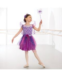 Fairy Dress Set with Wings, Headband & Wand