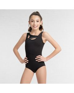 Capezio Cut Out Tank Leotard-Tween