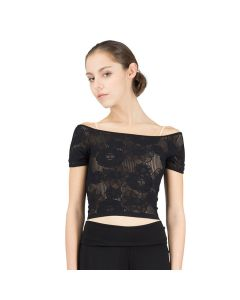 Repetto Short Lace Top