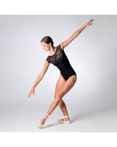 Dansez 1708 Boatneck Lace Leotard