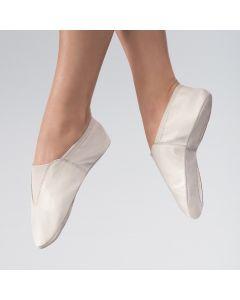 Chaussure de Gymnastique Bi-semelle en Cuir