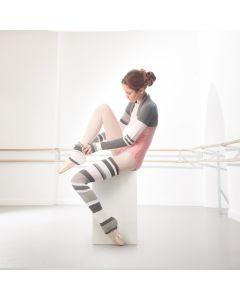 Intermezzo Stripe Legwarmers