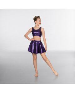 1st Position Jupe Circulaire Violet