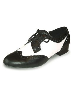 Roch Valley Ritz Derby Style Mens Ballroom Leather Shoe 1.2 inch Heel