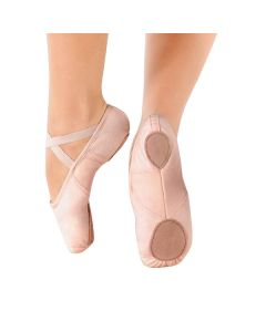 So Danca Demi-pointes Stretch en Toile