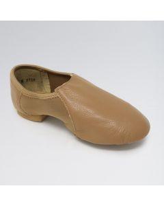 So Danca Chaussures de Jazz en Cuir avec Arche en Néoprène et Bi-Semelle en Caoutchouc
