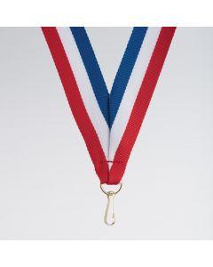 Ruban pour Médaille avec Clip de Rupture Lot de 10