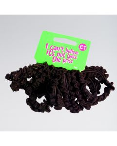 Chouchou Epais pour Cheveux Bruns