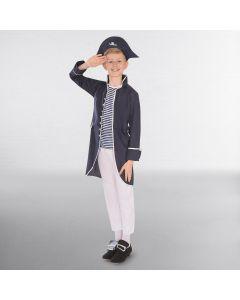 Marin Capitaine Marine & Blanc (Enfant)