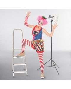 Costume de Clown Femme - Taille Unique Adulte