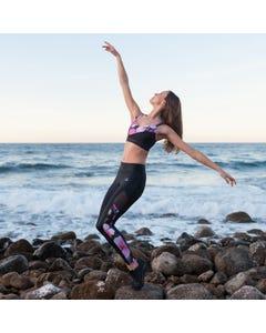 Dansez ELECTRA Dance Fitness Leggings Cloud Print