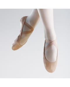 So Danca SuperPro Chaussons de Ballet Bi-Semelle en Cuir avec Insert Stretch