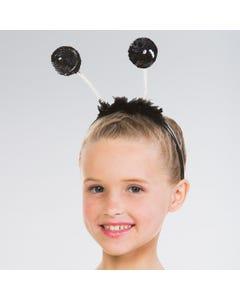 Antennes à paillettes noires
