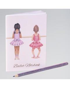 Mini carnet de notes petite ballerine