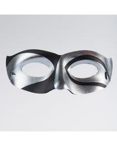 Silver/Black Eye Mask